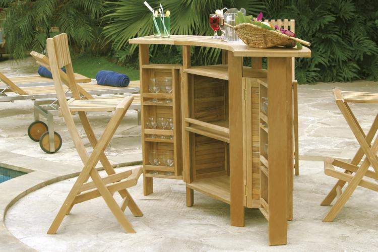 Стол деревянный складной барный Evolution
