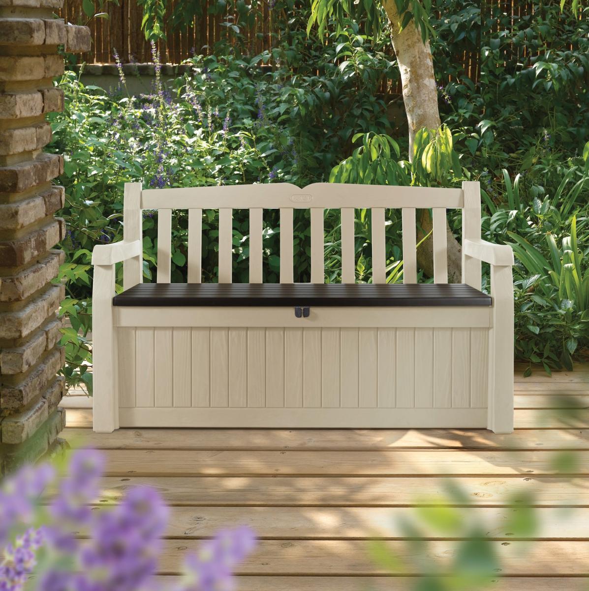 Скамья-сундук пластиковая Eden Garden Bench