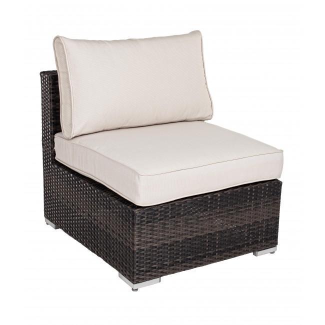 Кресло плетеное с подушкой Twenty