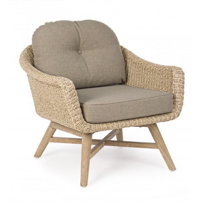 Кресло плетеное Marisol