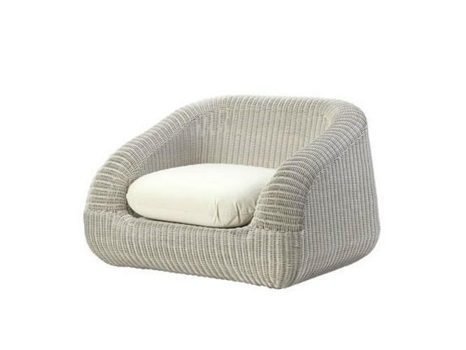 Кресло плетеное с подушкой Phorma