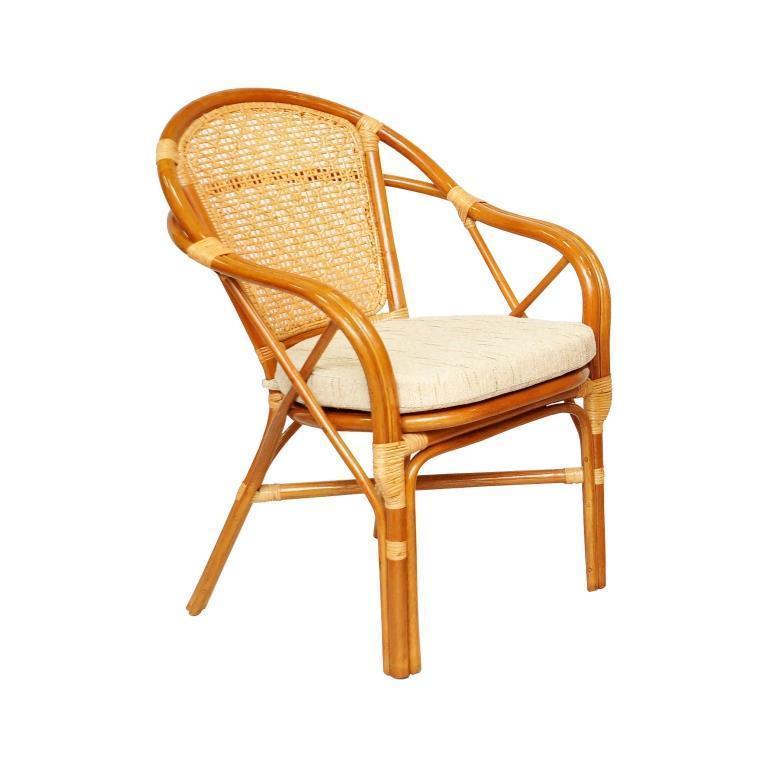 Кресло плетеное с подушкой Ellena