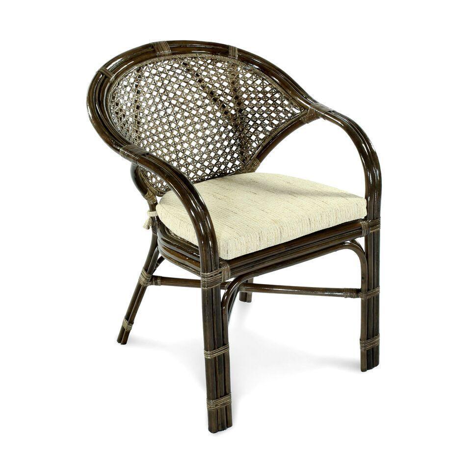 Кресло плетеное с подушкой Java