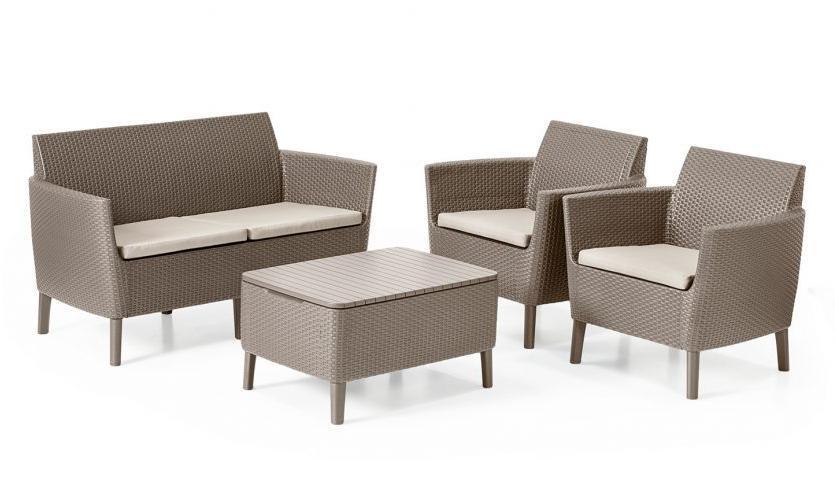 Комплект пластиковой мебели Salemo Set