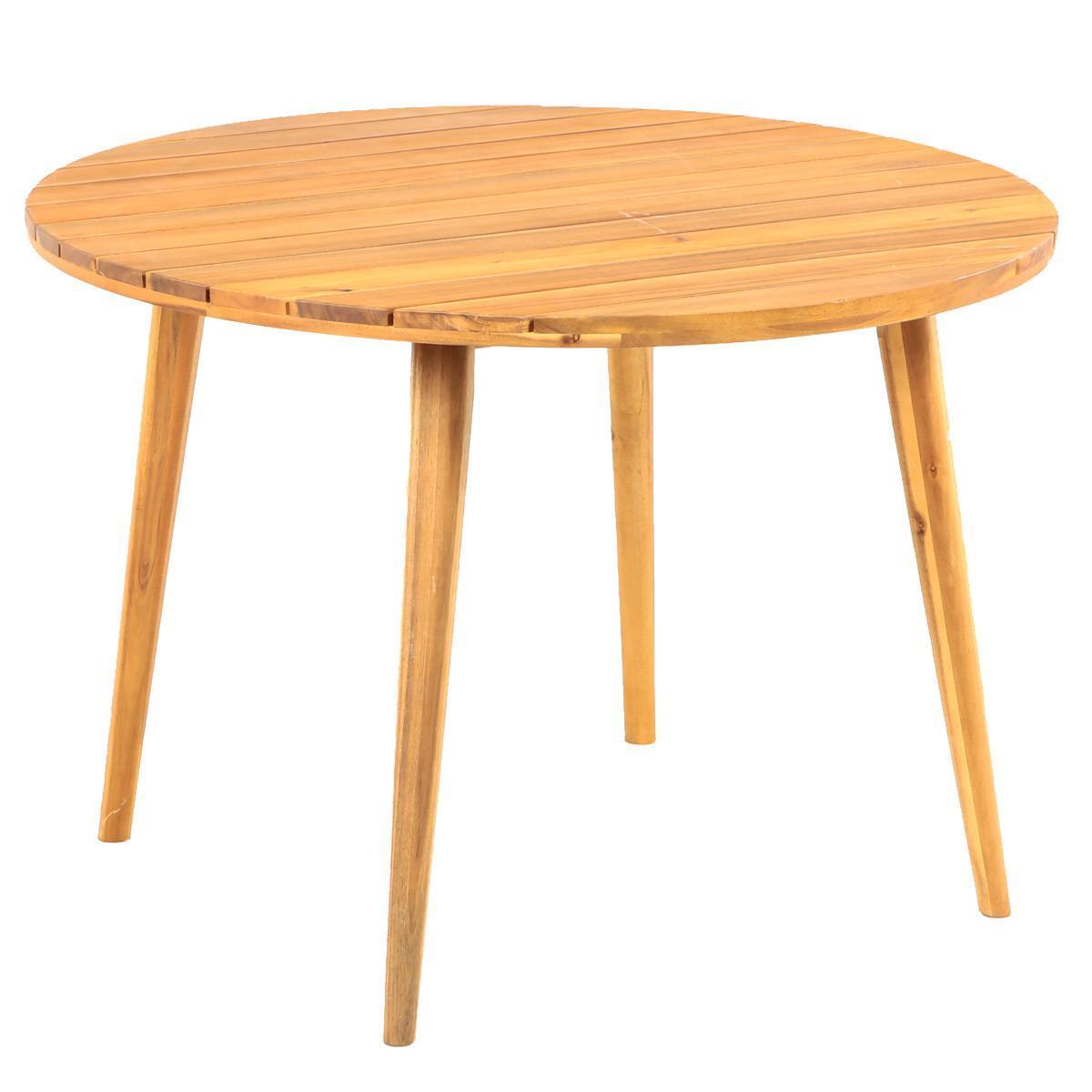 Стол деревянный обеденный Polaris