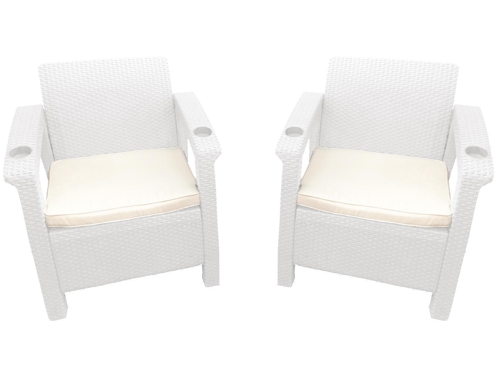 Комплект пластиковой мебели Double Set