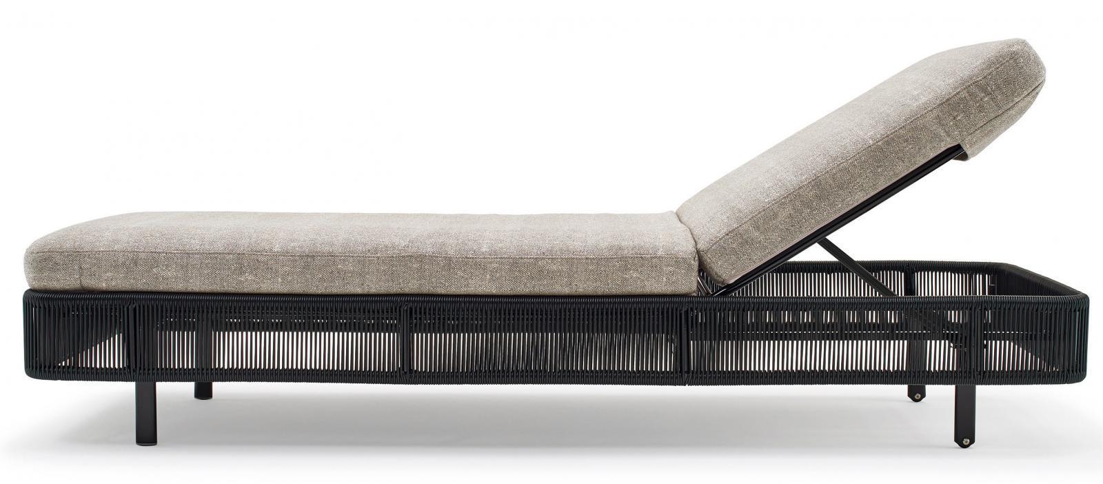Шезлонг-лежак плетеный Tibidabo