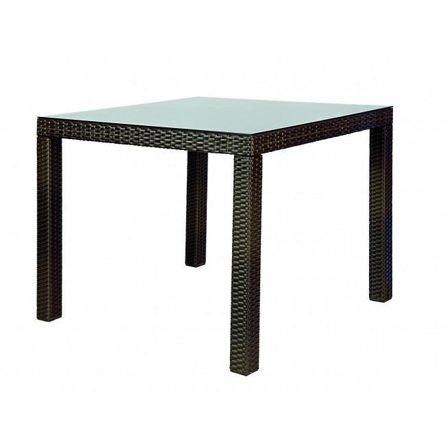 Стол плетеный обеденный Antalys