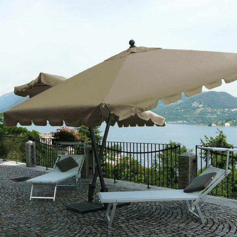 Зонт садовый двухкупольный Allegro TWIN