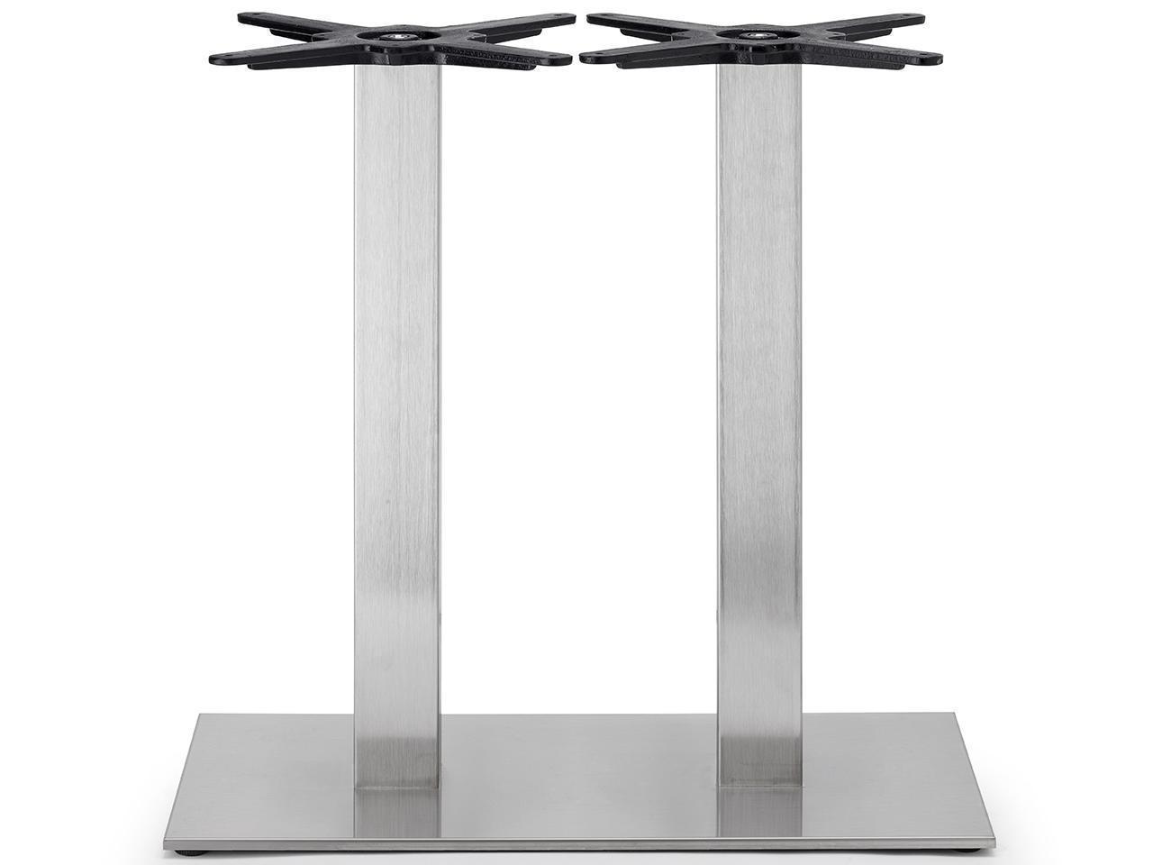Подстолье двойное металлическое Tiffany base rectangular shaped with double column
