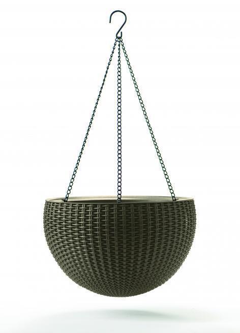 Пластиковое подвесное кашпо Hanging Sphere
