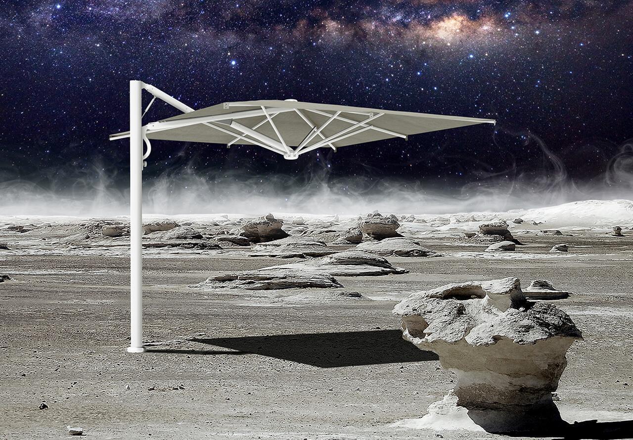 Зонт профессиональный Astro Starwhite
