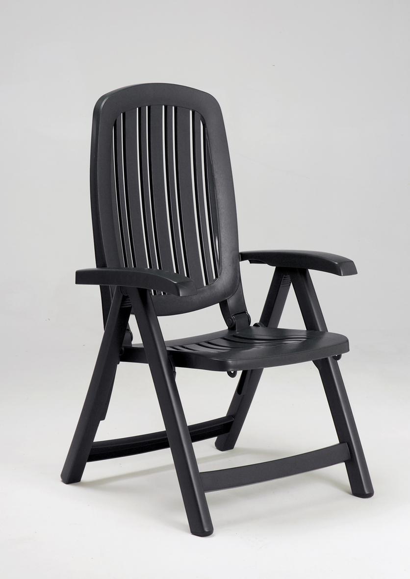 Кресло пластиковое складное Salina