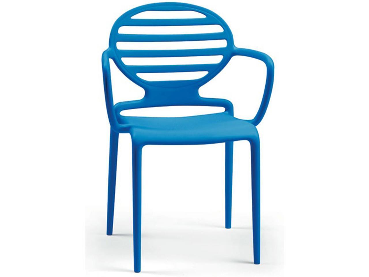Кресло пластиковое Cokka with armrests