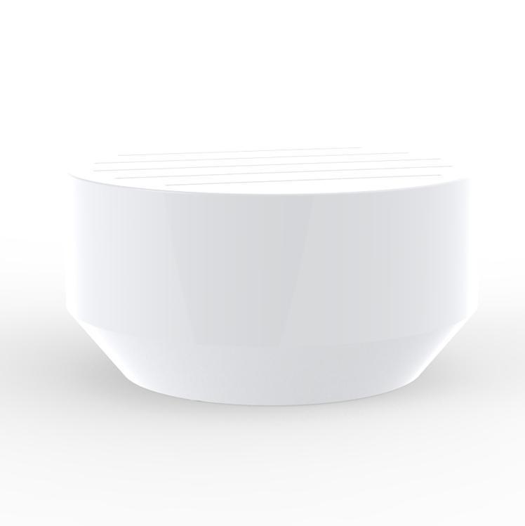Столик пластиковый кофейный Vela Round Coffee Table Basic