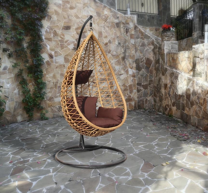 Кресло плетеное подвесное Aura