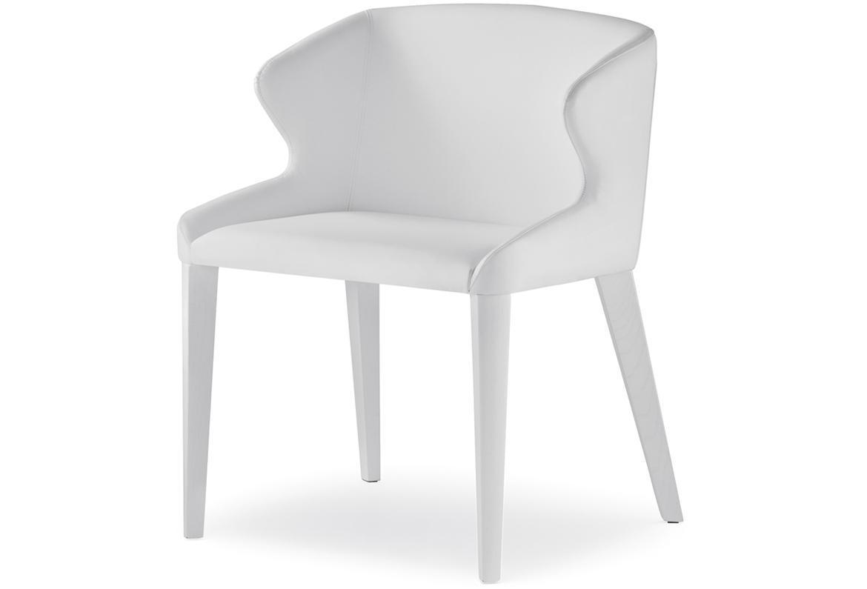 Кресло деревянное мягкое Leila