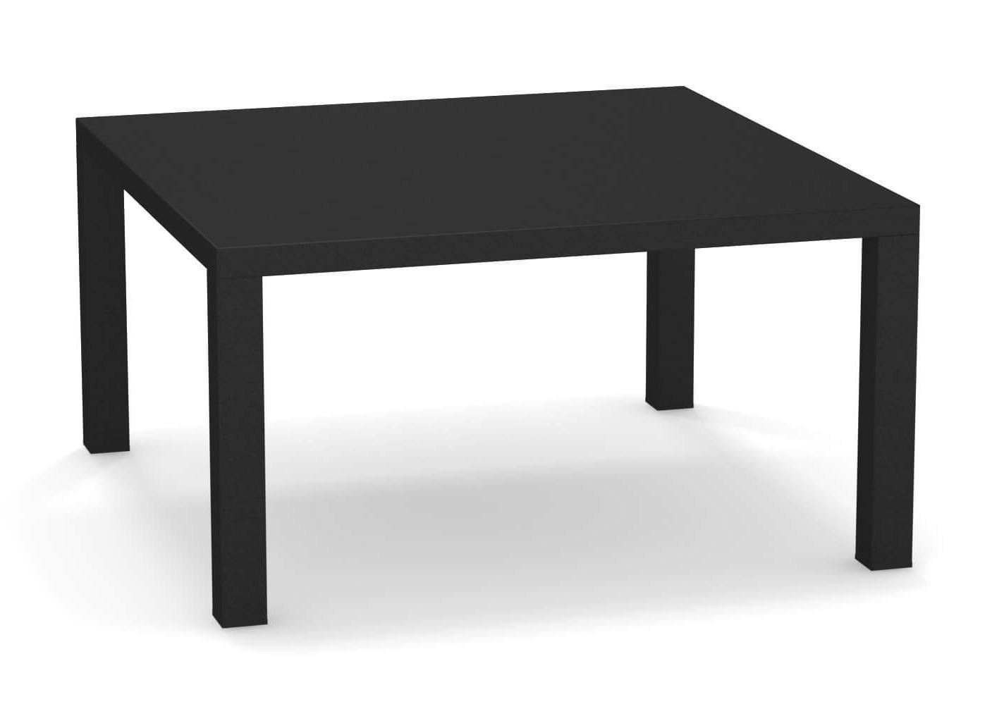 Столик металлический кофейный Round