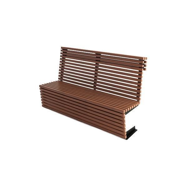 Скамейка садовая деревянная Ибица