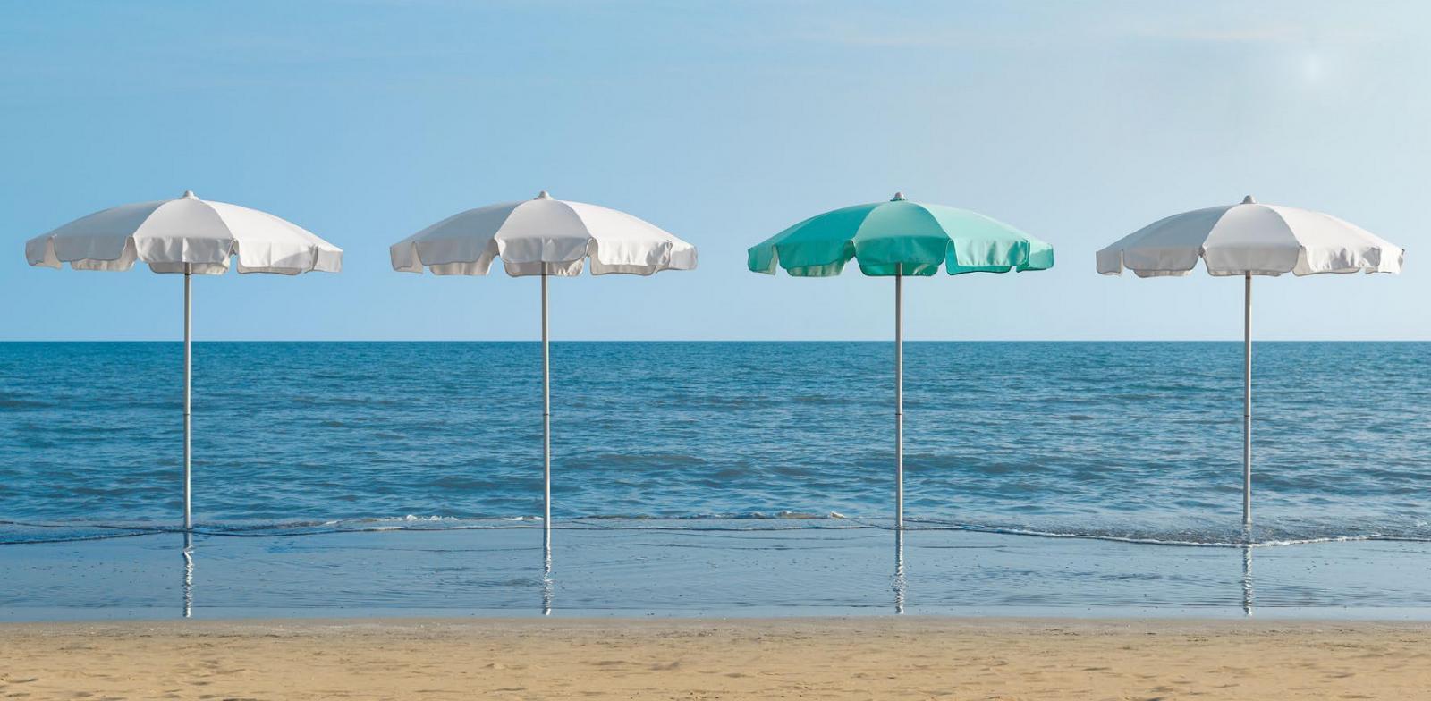 Зонт пляжный профессиональный Poseidon