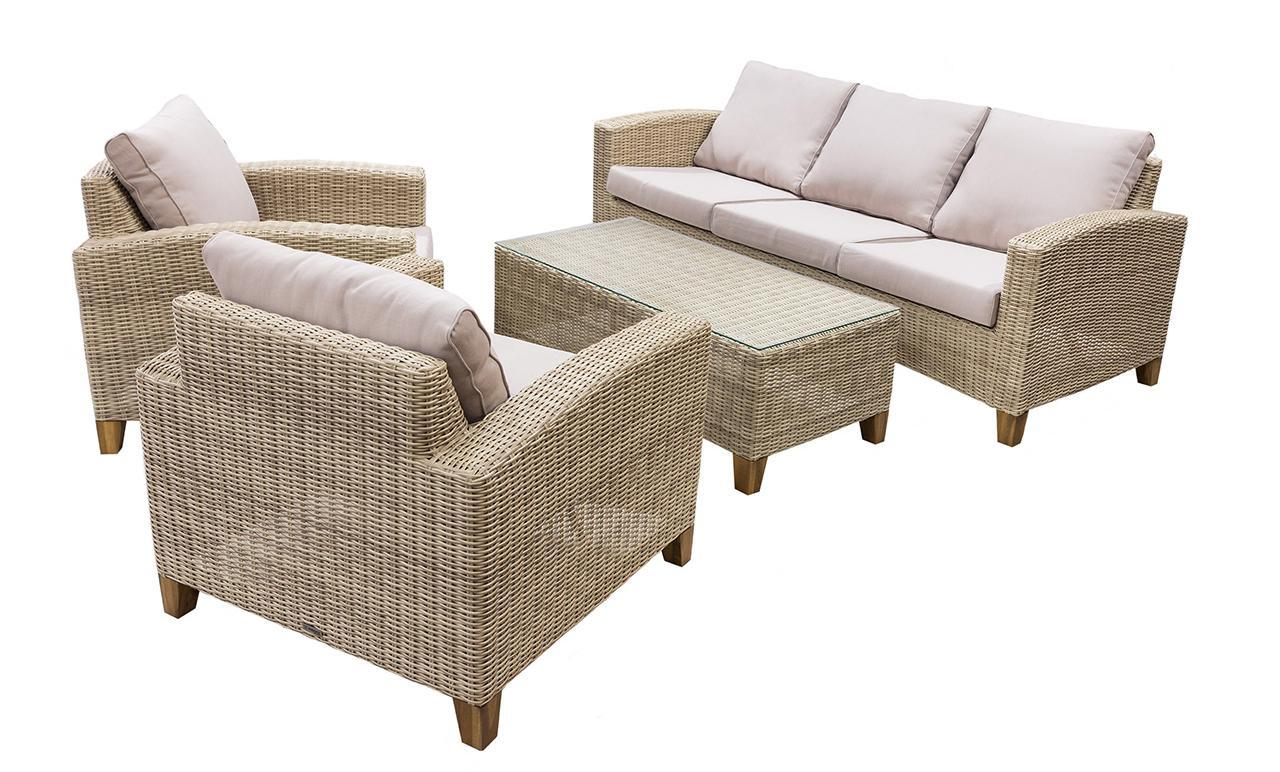 Комплект плетеной мебели Minerva