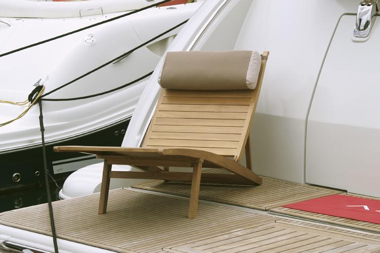 Шезлонг-лежак деревянный Elegance