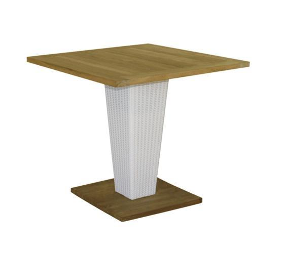 Стол деревянный плетеный Sentosa