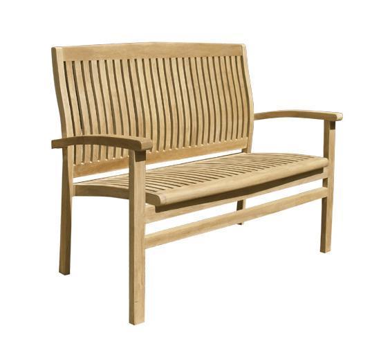 Скамейка деревянная двухместная Onda