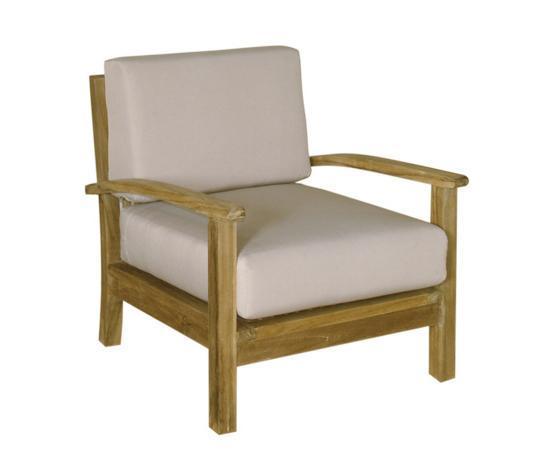 Кресло деревянное без подушки Savana