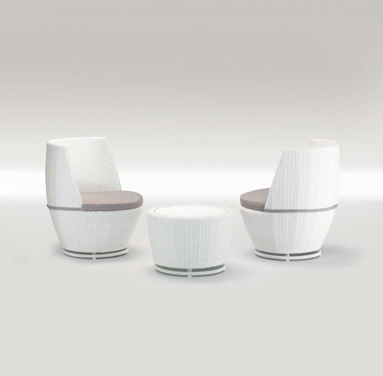 Комплект плетеной мебели Plutone