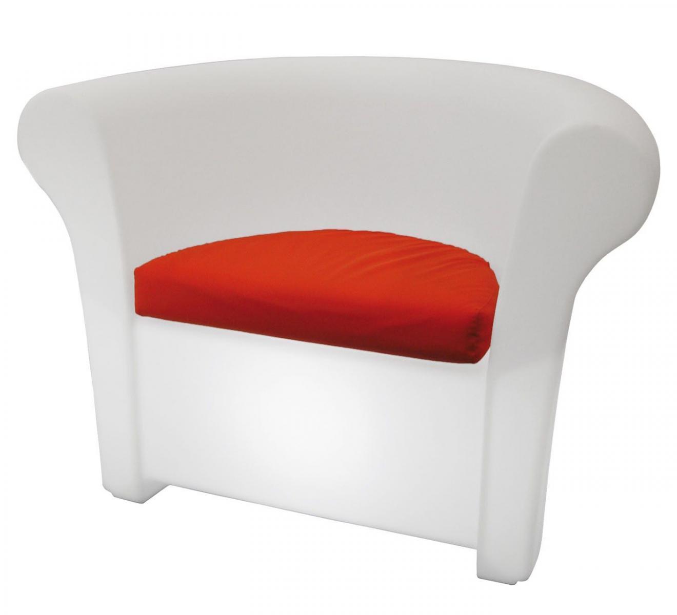 Кресло пластиковое светящееся Kalla Lighting