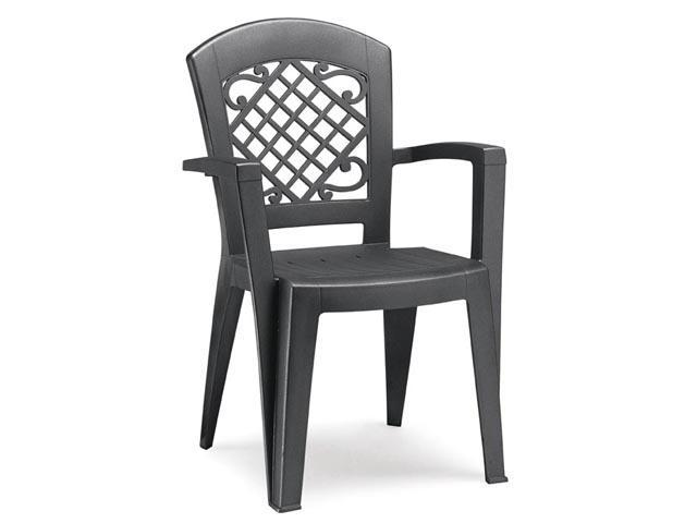 Кресло пластиковое Juliette monobloc