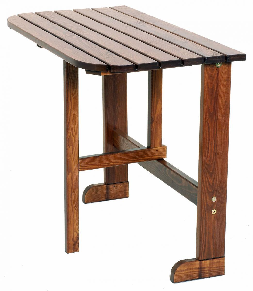 Стол деревянный балконный Twiggy