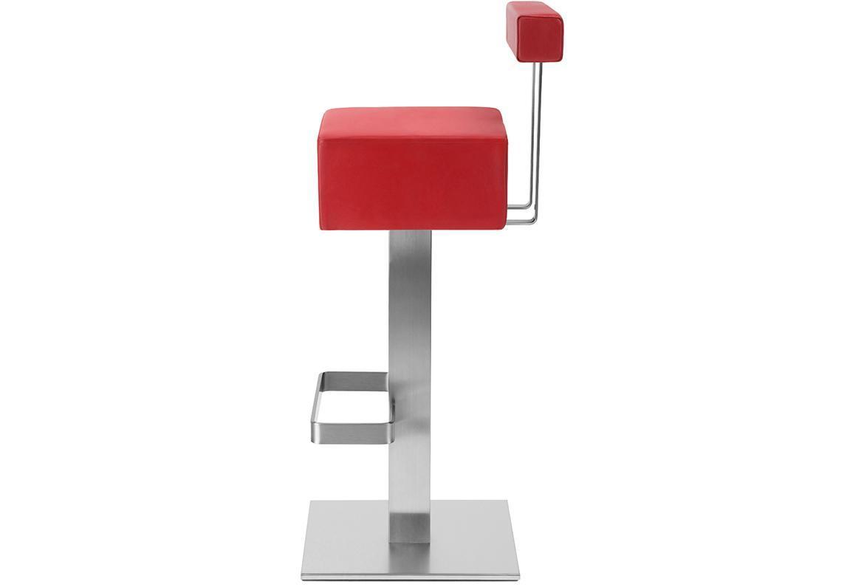 Мягкий барный металлический стул HX