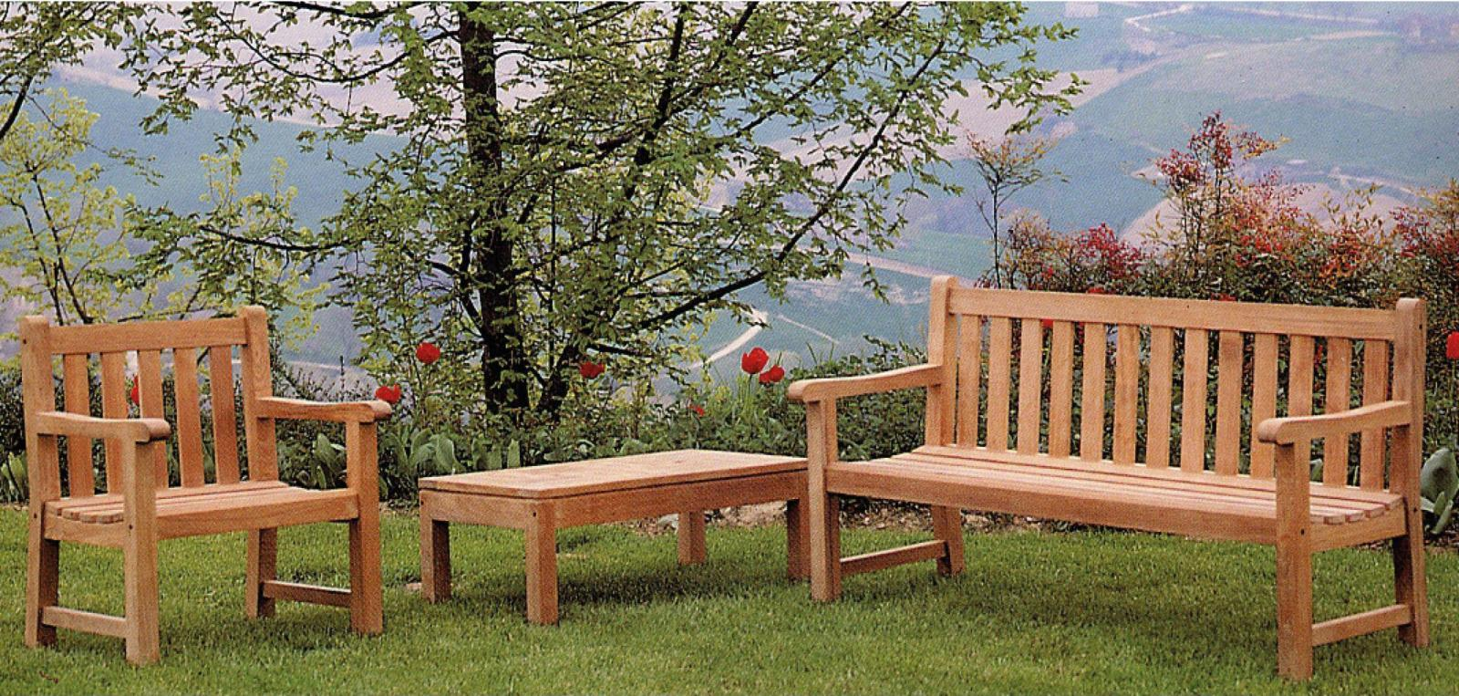 Скамейка деревянная Oxford