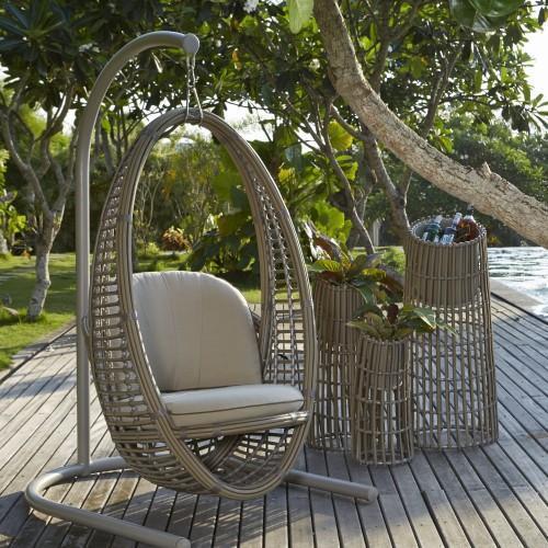Кресло плетеное подвесное Dynasty/Heri