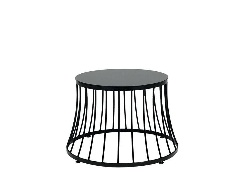 Стол металлический кофейный Clessidra