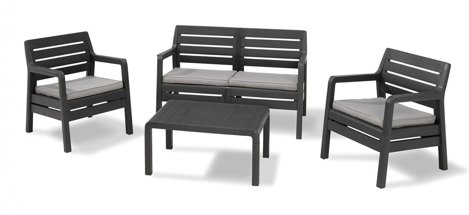 Комплект пластиковой мебели Delano Set