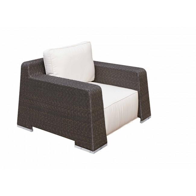 Кресло плетеное с подушкой Milton
