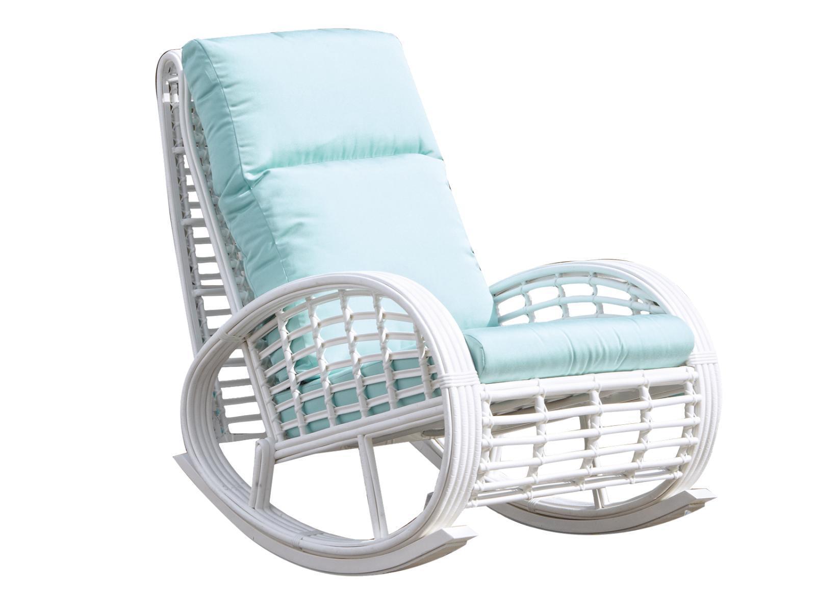 Кресло-качалка плетеное Dynasty/Taurus