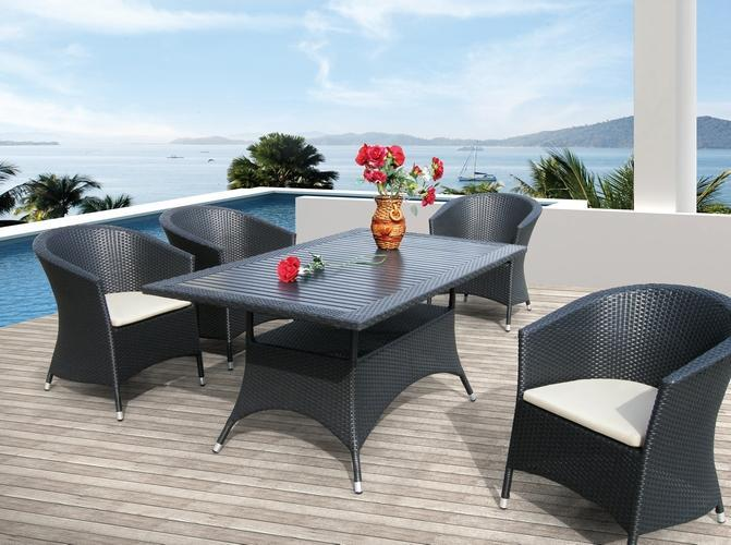 Комплект плетеной мебели Ibiza