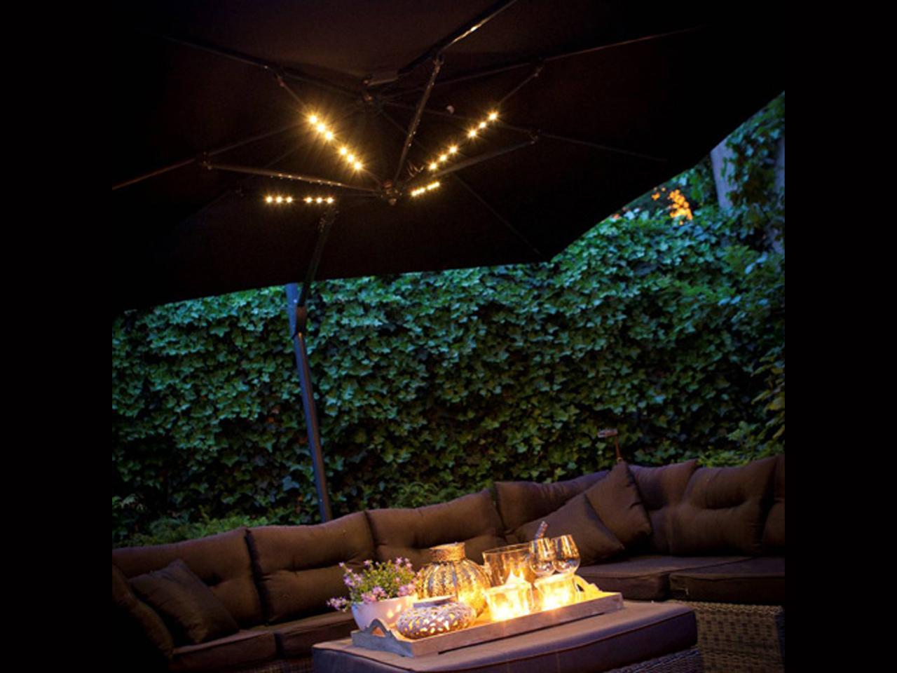 Подсветка универсальная для зонта Parasol Lighting