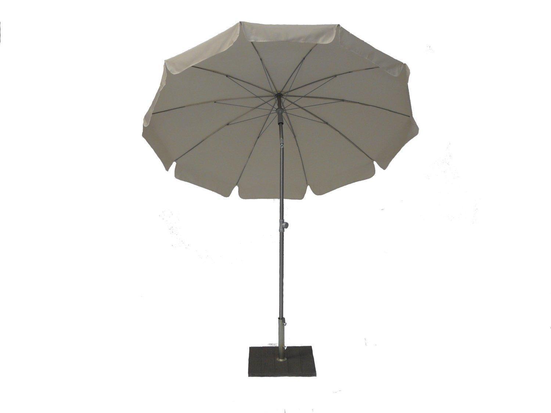 Зонт садовый с поворотной рамой Inox