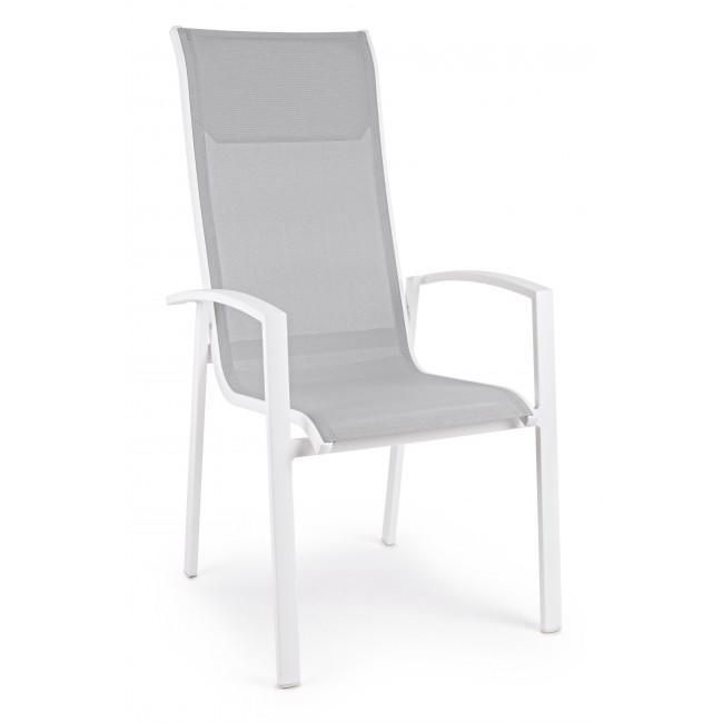 Кресло металлическое текстиленовое Grimsey