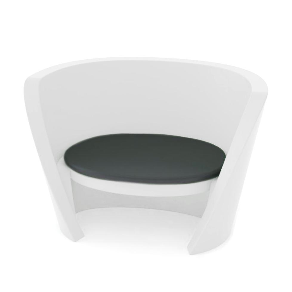 Кресло пластиковое светящееся Rap Chair Lighting