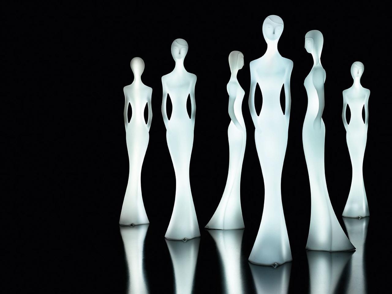 Скульптура пластиковая светящаяся, Penelope