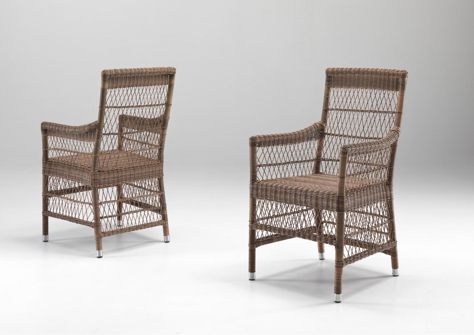 Кресло плетеное Camille