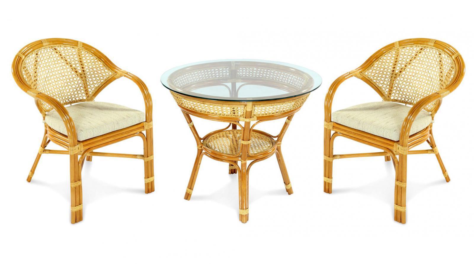 Комплект плетеной мебели Java-4