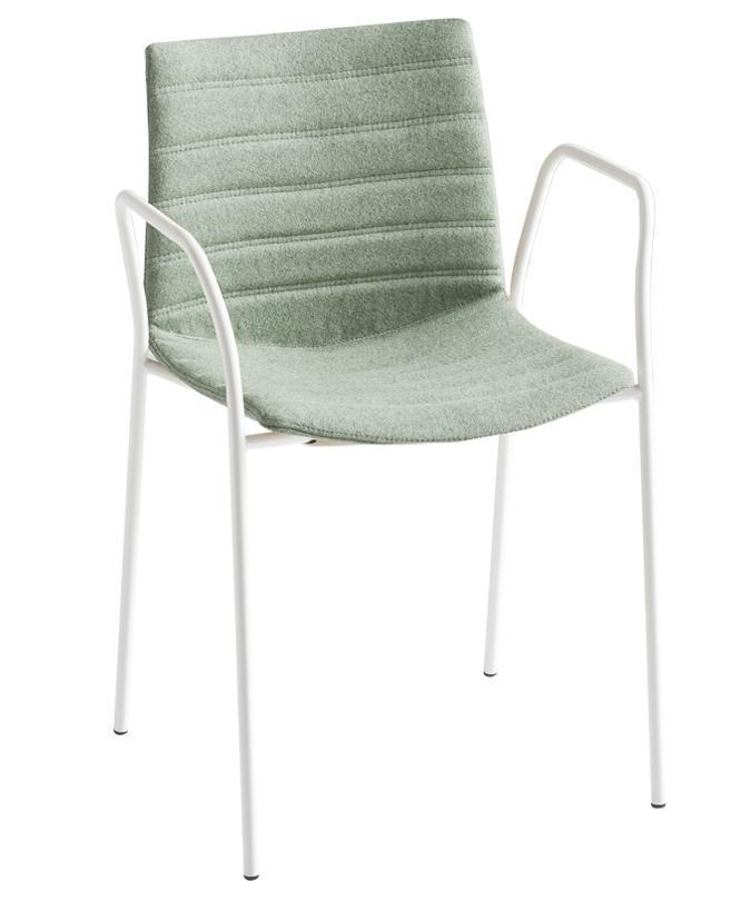 Кресло пластиковое с обивкой Kanvas TB Full