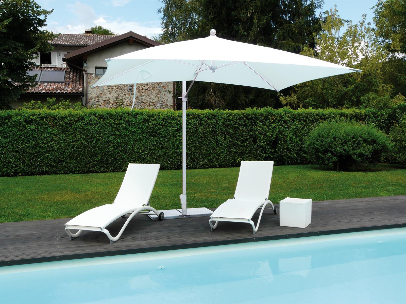 Зонт садовый с поворотной рамой Kronos ICE